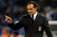 Italy to warm up for Irish test... with Luxembourg friendly