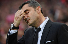 Valverde makes no excuses for Barcelona collapse