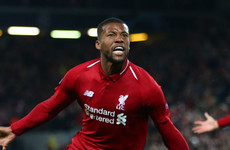 Wijnaldum's anger at being benched inspired two-goal display