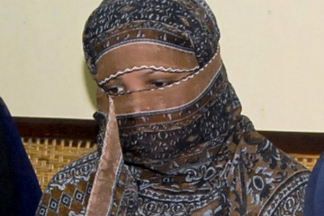 File photo of Asia Bibi from 2010.
