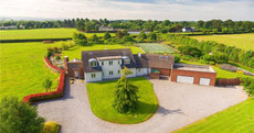 Serve up stylish country living at this €1.15m villa with its own tennis court