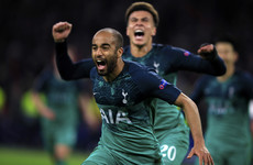 Tottenham through to Champions League final after remarkable comeback against Ajax