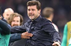 Tearful Pochettino salutes 'super-hero' Lucas after astonishing Ajax fightback