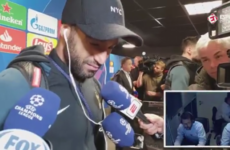 Spurs hat-trick hero Moura breaks down in tears watching back winning goal