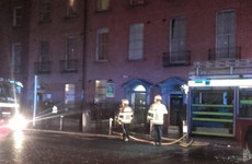 Two hospitalised and 20 evacuated from Dublin city centre flats after kitchen fire