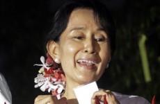 Burma releases Aung San Suu Kyi
