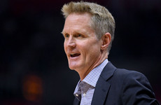 Warriors coach Kerr channels Jurgen Klopp's 'f*****g giants' post-game interview
