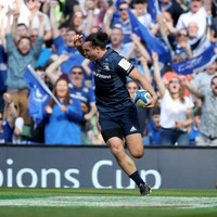 Cronin and Lowe start, McGrath returns as Leinster unveil team chasing back-to-back Champions Cup glory