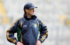 Donaghy dropped, as Crowley and Curtin start for Kerry