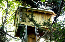 Sleep Here: A tranquil treehouse for two that's only five minutes from Cork city centre