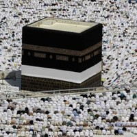 In pictures: Tens of thousands of pilgrims flock to Mecca