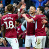 Conor Hourihane screamer helps Aston Villa come from behind in thrilling Championship play-off first leg