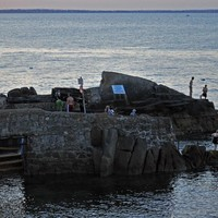 Gardaí appeal for witnesses after five hospitalised in brawl at Forty Foot