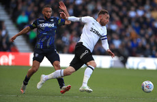 Roofe gives Leeds play-off advantage as Bielsa's men leave Derby with crucial semi-final win