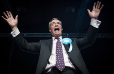 Farage claims 'will of the people' is for UK to crash out with no deal as his Brexit party soars in polls