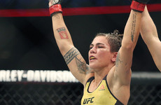 Andrade lifts UFC gold after controversial slam finish against 'Thug Rose'