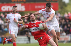 Trailing with seven minutes left, Tyrone hit 1-5 to see off Derry in Ulster clash
