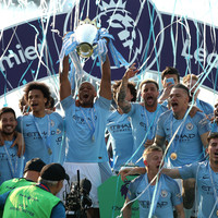 Man City crowned Premier League champions after emphatic Brighton victory
