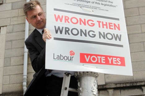 This means war: Labour haven't pulled any punches in their latest bout of posters