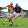 Cooney's crucial goal leads unconvincing Galway to six-point win over Carlow