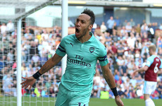 Aubameyang shares Golden Boot after match-winning brace at Burnley