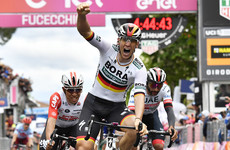 Pascal Ackermann seals biggest win of his career with  first-ever Grand Tour stage at Giro d'Italia