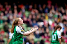 Seventh heaven for league leaders as Ireland striker hits brilliant hat-trick