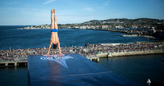 145,000 people flocked to Dun Laoghaire to see some of the world's top cliff divers over the weekend