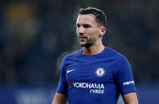 Chelsea midfielder Drinkwater handed driving ban after crashing Range Rover into a wall
