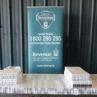 Man questioned after Revenue seizes more than 27,000 illegal cigarettes