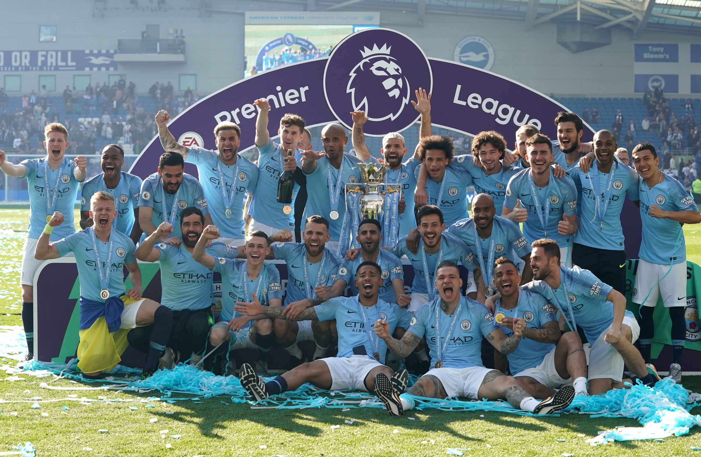 Image result for Manchester city champions