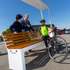 Fix your bike or charge your phone? New 'smart bench' installed in Dún Laoghaire