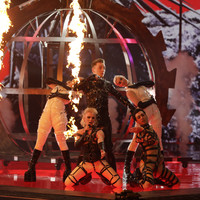 Iceland's BDSM band among ten acts to qualify after first Eurovision semi final