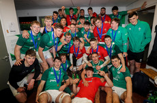 Key men absent as Grand Slam winners Ireland unveil squad for U20 World Championship