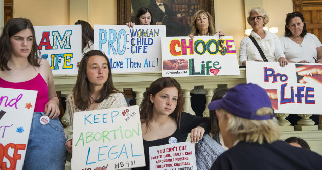 Why are abortion laws being restricted in the US right now?