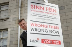 In pictures: Labour declares war on Sinn Féin?