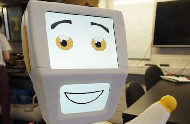 Meet Stevie II - Ireland's first AI robot designed to help care for older people