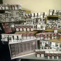 165 litres of alcohol and almost 48,000 cigarettes seized by Revenue