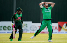 Stirling century can't prevent Ireland's six-wicket defeat to Bangladesh