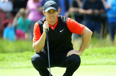 Rory McIlroy hopes late birdie is turning point after tough US PGA start