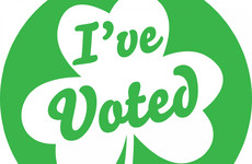 'I Voted' stickers at Dublin city polling booths aim to raise awareness of the ballot box