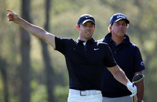 Awful start leaves McIlroy battling to make the cut as Danny Lee implodes