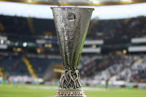 The Europa League trophy.