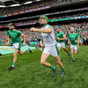 14 of the All-Ireland starting team feature for Limerick against Cork