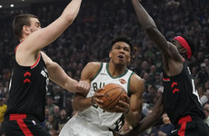 MVP finalist hits 30 points as Bucks down Raptors to clinch 2-0 series lead