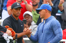 Koepka seven shots clear in record lead at PGA Championship as Woods misses cut