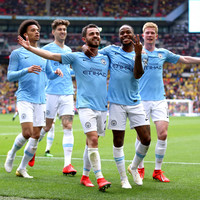 Manchester City smash six past Watford to claim FA Cup and seal historic domestic treble