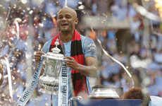Kompany departs Manchester City after captaining club to domestic treble