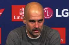 'Are you accusing me?' - Guardiola angered during post-FA Cup final press conference
