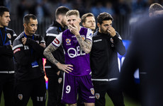 Andy Keogh's bid to become the second Irish winner of the A-League ends in disappointment